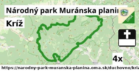 ilustračný obrázok k Kríž, Národný park Muránska planina