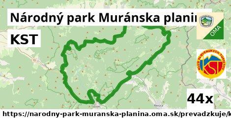 ilustračný obrázok k KST, Národný park Muránska planina