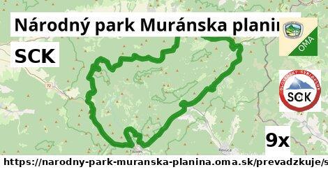ilustračný obrázok k SCK, Národný park Muránska planina