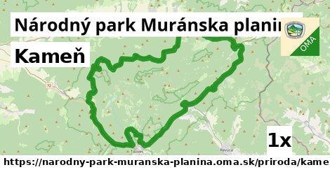 ilustračný obrázok k Kameň, Národný park Muránska planina