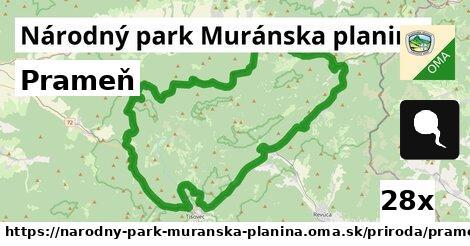ilustračný obrázok k Prameň, Národný park Muránska planina