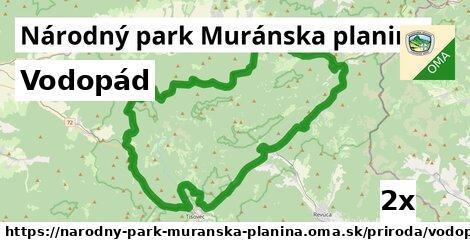 ilustračný obrázok k Vodopád, Národný park Muránska planina