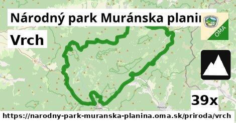 ilustračný obrázok k Vrch, Národný park Muránska planina