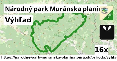 ilustračný obrázok k Výhľad, Národný park Muránska planina