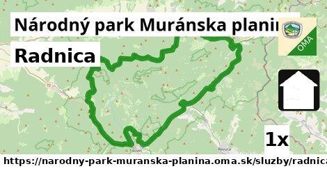 ilustračný obrázok k Radnica, Národný park Muránska planina