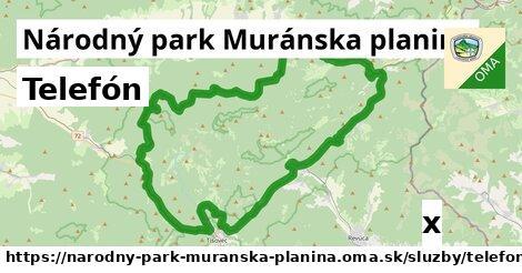 ilustračný obrázok k Telefón, Národný park Muránska planina