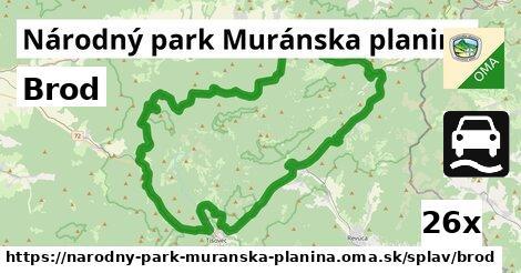 ilustračný obrázok k Brod, Národný park Muránska planina