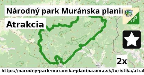ilustračný obrázok k Atrakcia, Národný park Muránska planina