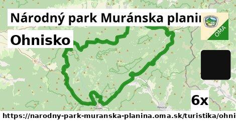 ilustračný obrázok k Ohnisko, Národný park Muránska planina