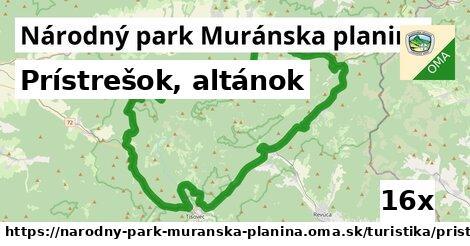 ilustračný obrázok k Prístrešok, altánok, Národný park Muránska planina