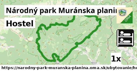 ilustračný obrázok k Hostel, Národný park Muránska planina