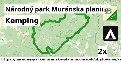 ilustračný obrázok k Kemping, Národný park Muránska planina