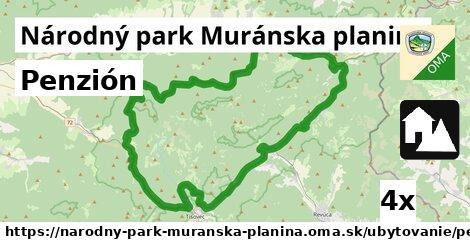 ilustračný obrázok k Penzión, Národný park Muránska planina