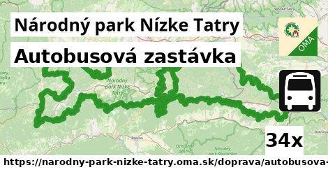 ilustračný obrázok k Autobusová zastávka, Národný park Nízke Tatry