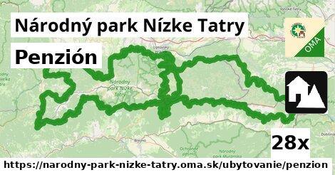 ilustračný obrázok k Penzión, Národný park Nízke Tatry