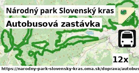 ilustračný obrázok k Autobusová zastávka, Národný park Slovenský kras