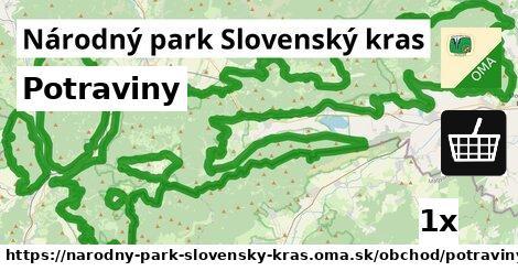 ilustračný obrázok k Potraviny, Národný park Slovenský kras
