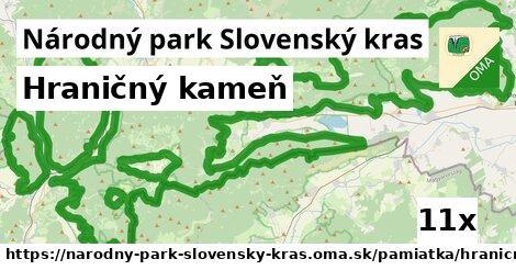 ilustračný obrázok k Hraničný kameň, Národný park Slovenský kras