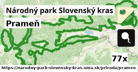 ilustračný obrázok k Prameň, Národný park Slovenský kras