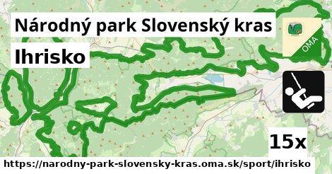ilustračný obrázok k Ihrisko, Národný park Slovenský kras