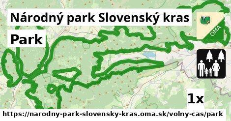 ilustračný obrázok k Park, Národný park Slovenský kras
