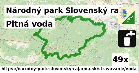 ilustračný obrázok k Pitná voda, Národný park Slovenský raj
