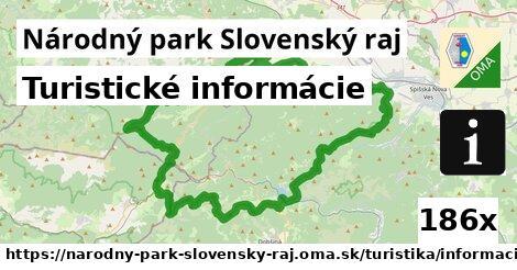 ilustračný obrázok k Turistické informácie, Národný park Slovenský raj