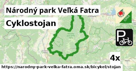 ilustračný obrázok k Cyklostojan, Národný park Veľká Fatra