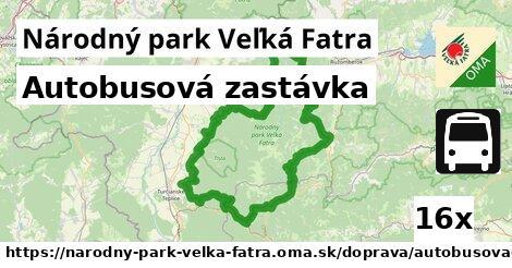 ilustračný obrázok k Autobusová zastávka, Národný park Veľká Fatra