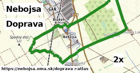doprava v Nebojsa