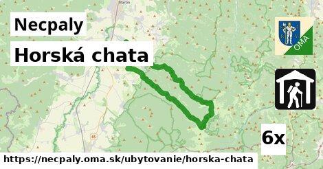horská chata v Necpaly