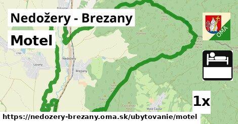 motel v Nedožery - Brezany