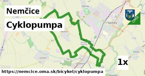 cyklopumpa v Nemčice