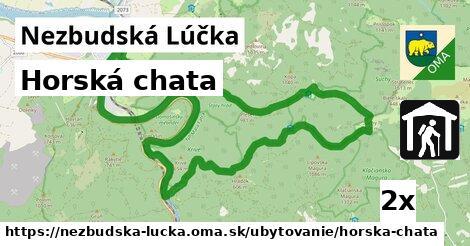 horská chata v Nezbudská Lúčka
