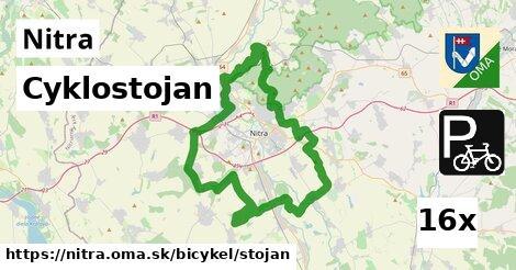 Cyklostojan, Nitra