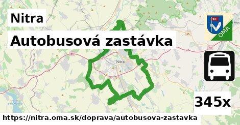autobusová zastávka v Nitra