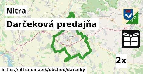 Darčeková predajňa, Nitra