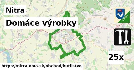 Domáce výrobky, Nitra