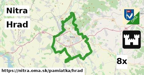 Hrad, Nitra