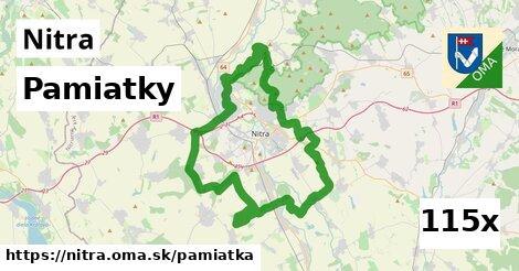 pamiatky v Nitra