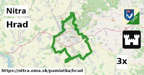 ilustračný obrázok k Hrad, Nitra