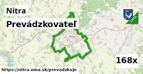 prevádzkovateľ v Nitra