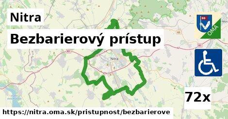 bezbarierový prístup v Nitra