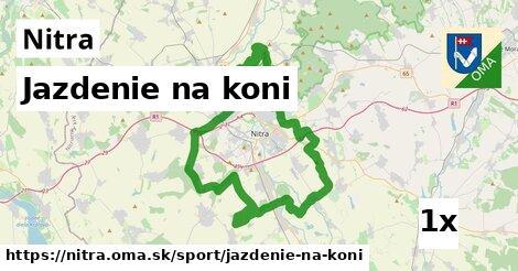 ilustračný obrázok k Jazdenie na koni, Nitra