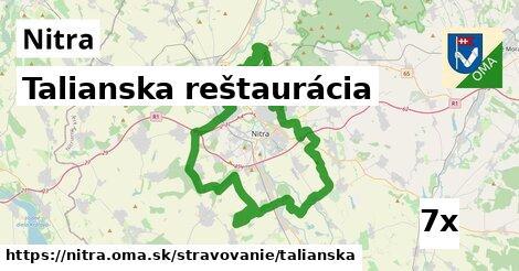 Talianska reštaurácia, Nitra