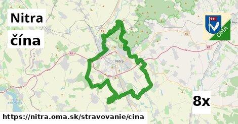 čína v Nitra
