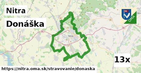 donáška v Nitra