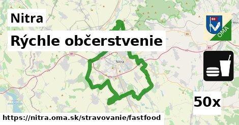 rýchle občerstvenie v Nitra