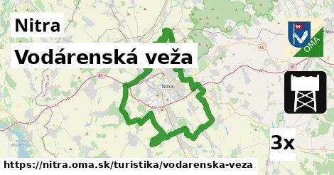 vodárenská veža v Nitra
