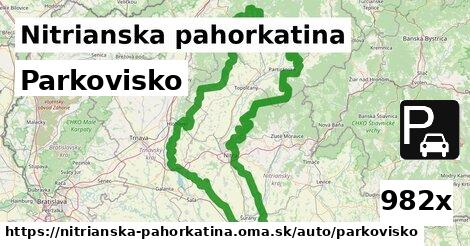 ilustračný obrázok k Parkovisko, Nitrianska pahorkatina